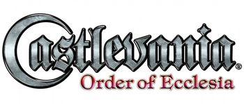 Castlevania-Order-Of-Ecclesia-Logo