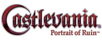 Castlevania portrait of ruin logo