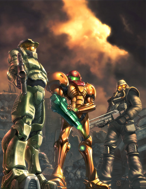 Samus master chief
